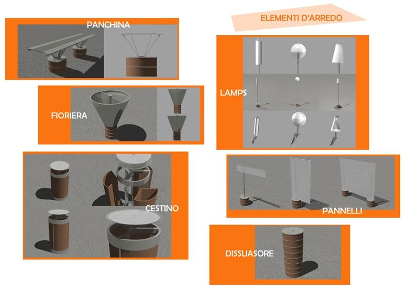 Arredo urbano - Perugia 01