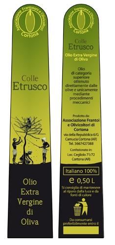 Colle etrusco - etichetta olio 02