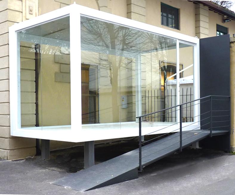 Box espositivo Pitti