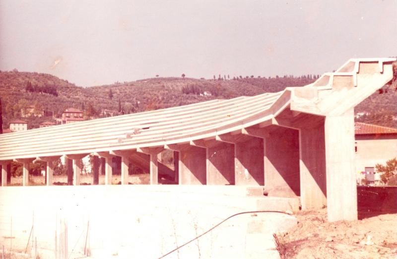 stadio comunale cast fno tribune dopo la posa in opera di gradoni